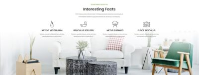 Full width background + info boxes